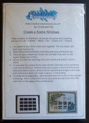 Create A Scene Die Cut Window pack